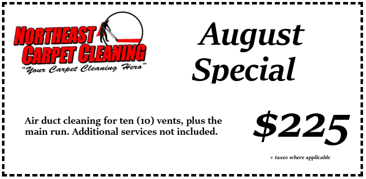Air duct cleaning for $225.00